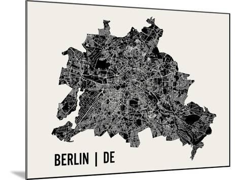 Berlin-Mr City Printing-Mounted Art Print