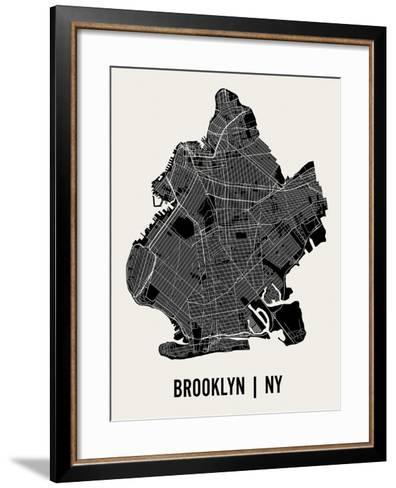 Brooklyn-Mr City Printing-Framed Art Print