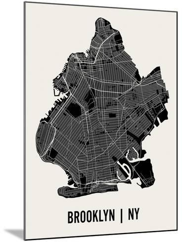 Brooklyn-Mr City Printing-Mounted Art Print