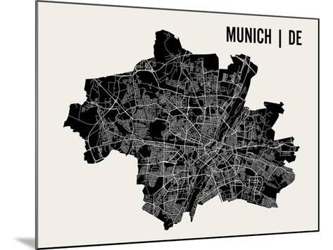 Munich-Mr City Printing-Mounted Art Print