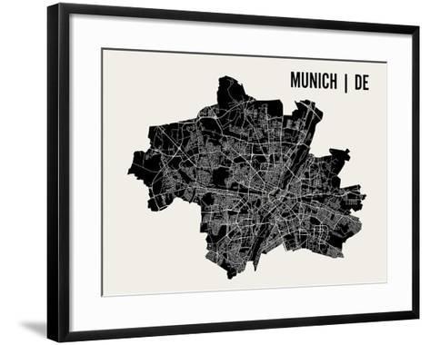 Munich-Mr City Printing-Framed Art Print