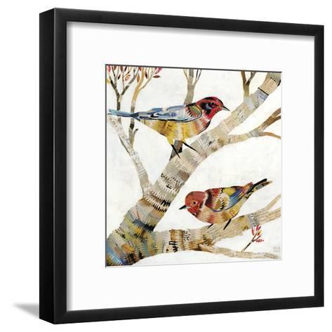 Warblers II-Dolan Geiman-Framed Art Print