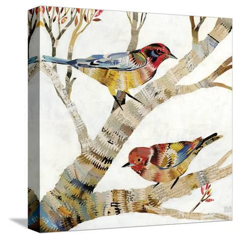 Warblers II-Dolan Geiman-Stretched Canvas Print