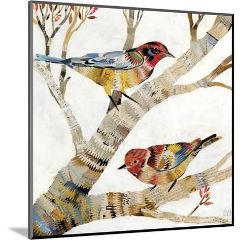 Warblers II-Dolan Geiman-Mounted Art Print