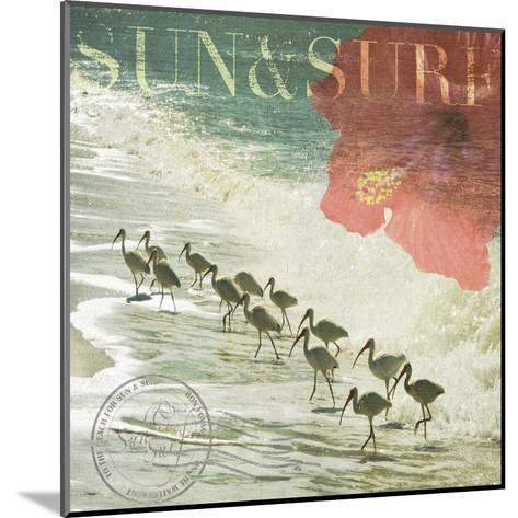 Sun & Surf-Donna Geissler-Mounted Art Print