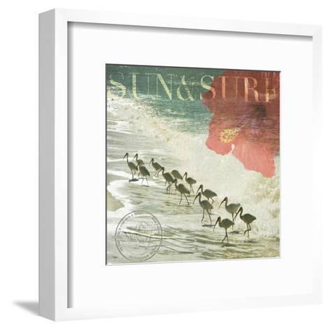 Sun & Surf-Donna Geissler-Framed Art Print