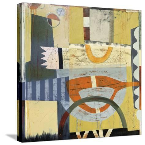 Tango 2-Sue Cretarolo-Stretched Canvas Print