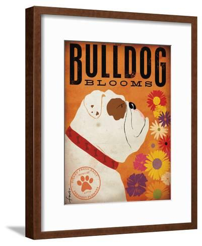 Bulldog Blooms-Stephen Fowler-Framed Art Print