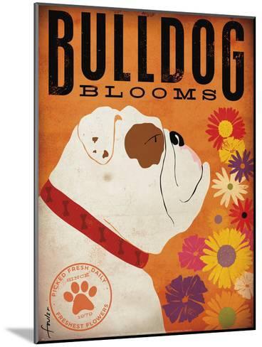 Bulldog Blooms-Stephen Fowler-Mounted Art Print