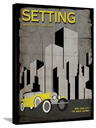 Setting (Great Gatsby) - Element of a Novel-Christopher Rice-Stretched Canvas Print