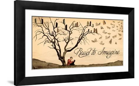 Read to Imagine-Jeanne Stevenson-Framed Art Print