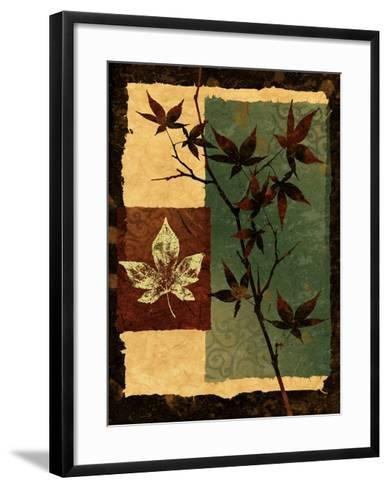 New Leaf II-Keith Mallett-Framed Art Print