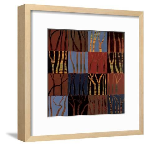 Red Trees II-Gail Altschuler-Framed Art Print