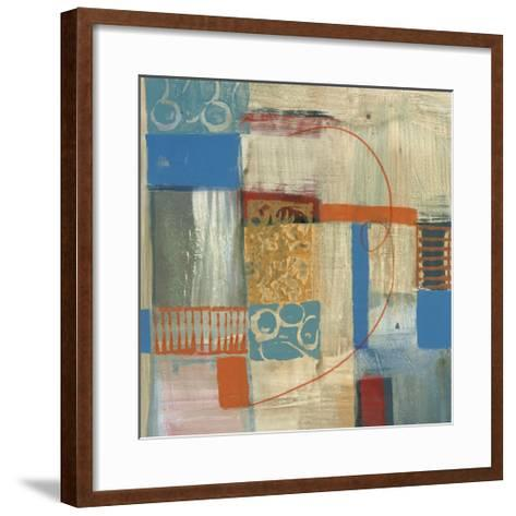 Blue Radiance I-Leslie Bernsen-Framed Art Print