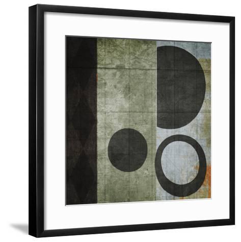 Woven I-Noah Li-Leger-Framed Art Print
