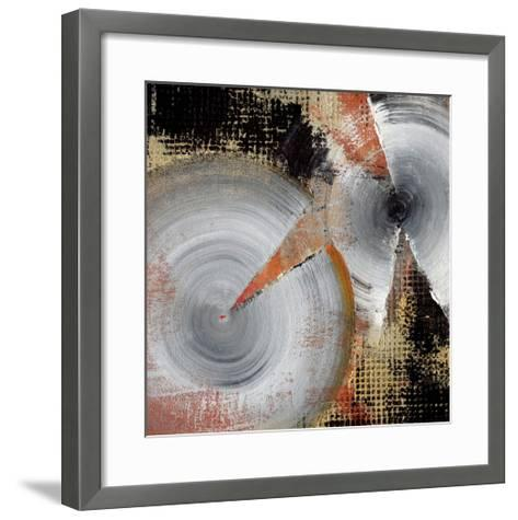 Circle Abstract I-Noah Li-Leger-Framed Art Print