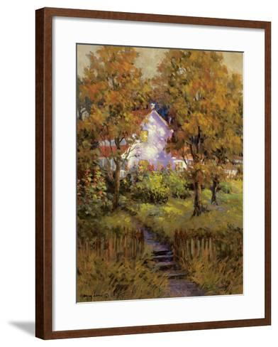 Rural Vista IV-Nancy Lund-Framed Art Print
