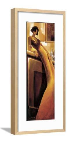 La Seductrice-Keith Mallett-Framed Art Print