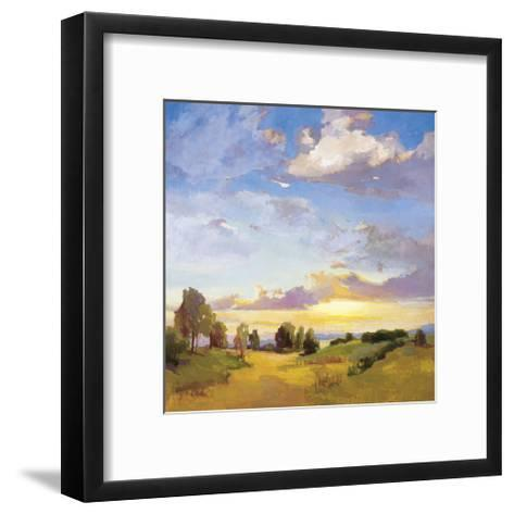 Golden Horizons-Vicki Mcmurry-Framed Art Print
