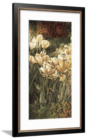 Summer Garden I-Linda Thompson-Framed Art Print