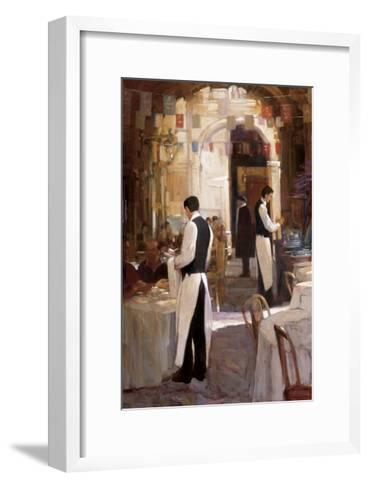 Two Waiters, Place des Vosges-Philip Craig-Framed Art Print