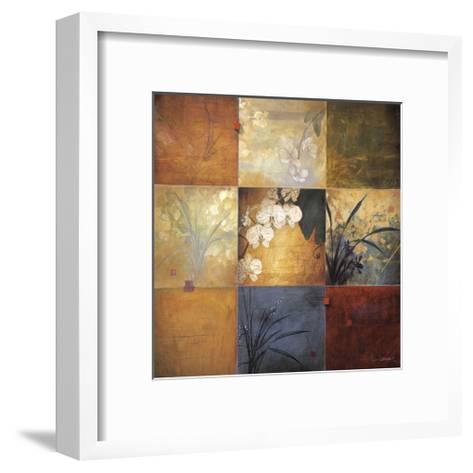 Orchid Nine Patch-Don Li-Leger-Framed Art Print