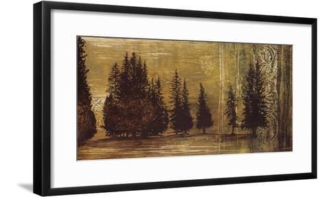 Forest Silhouettes I-Linda Thompson-Framed Art Print