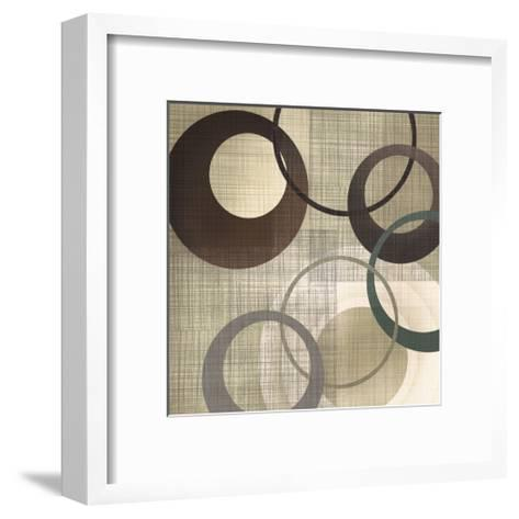 Hoops 'n' Loops II-Tandi Venter-Framed Art Print
