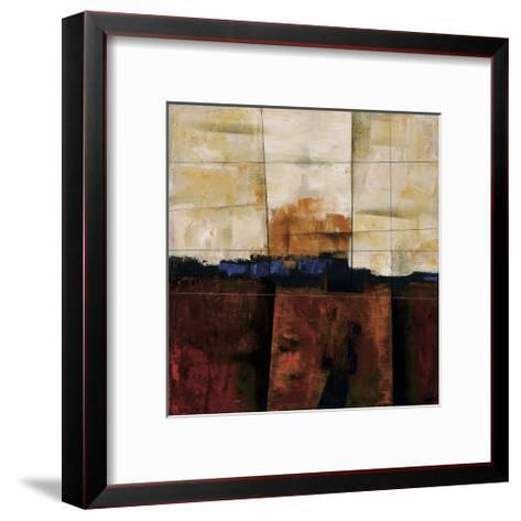 Red Ground-Yehan Wang-Framed Art Print