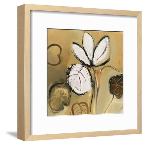 Lily Pond I-Natasha Barnes-Framed Art Print