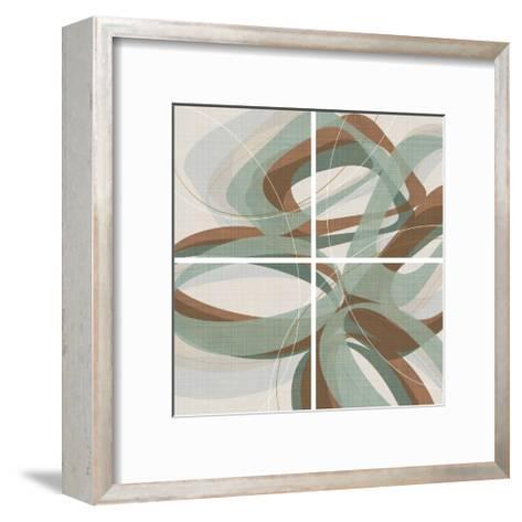 Mint Ripple-Ahava-Framed Art Print