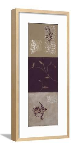 Paisley and Plum I-Rita Vindedzis-Framed Art Print
