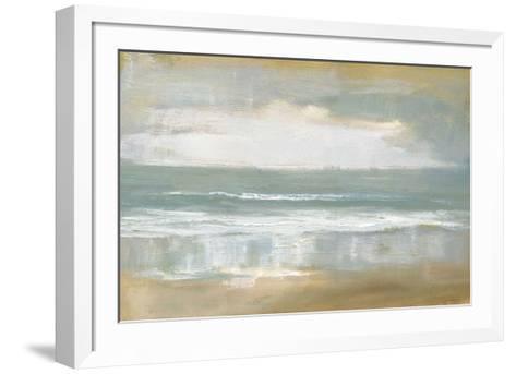 Shoreline-Caroline Gold-Framed Art Print