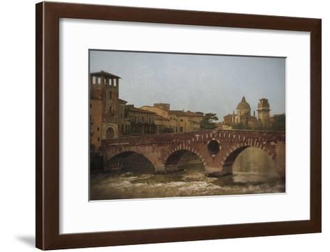 Ponte Pietra, Verona-Heather Jacks-Framed Art Print