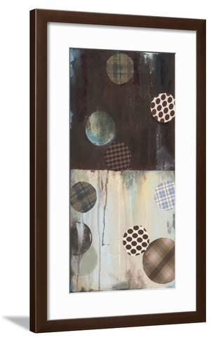Grayson's Patches I-Wani Pasion-Framed Art Print