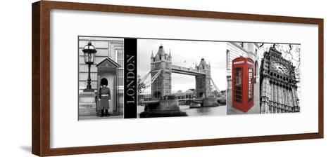 A Glimpse of London-Jeff Maihara-Framed Art Print