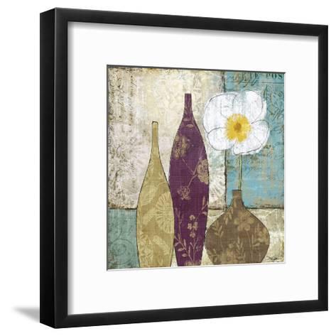 Le Pavot Blanc-Keith Mallett-Framed Art Print