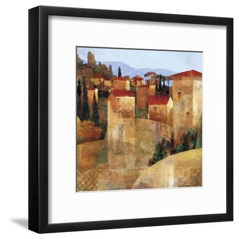 Tuscan Hillside-Keith Mallett-Framed Art Print