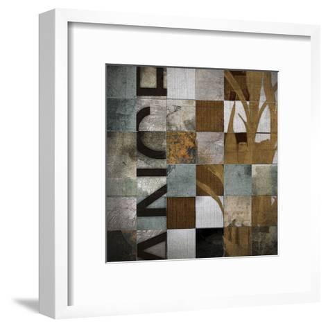Divisions-Noah Li-Leger-Framed Art Print