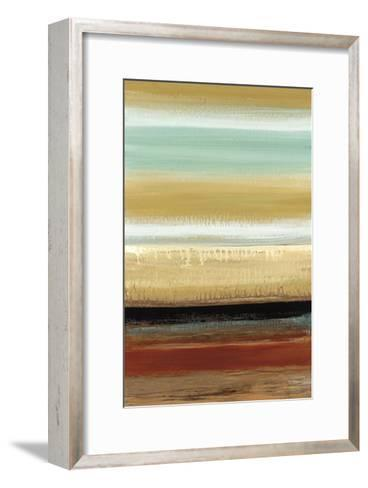 Horizon Lines I-Cat Tesla-Framed Art Print