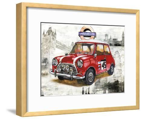 British Car-Bresso Sol?-Framed Art Print
