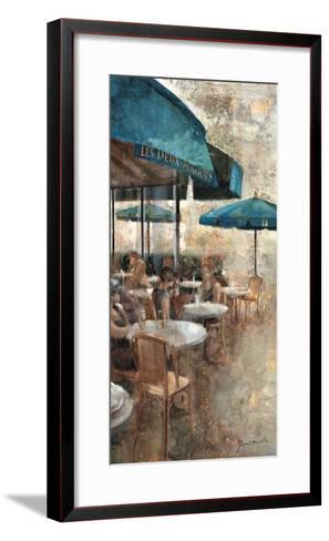 Terraza Café Les Deux Magots-Noemi Martin-Framed Art Print