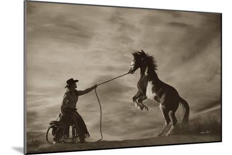 Whoa Boy-Barry Hart-Mounted Art Print