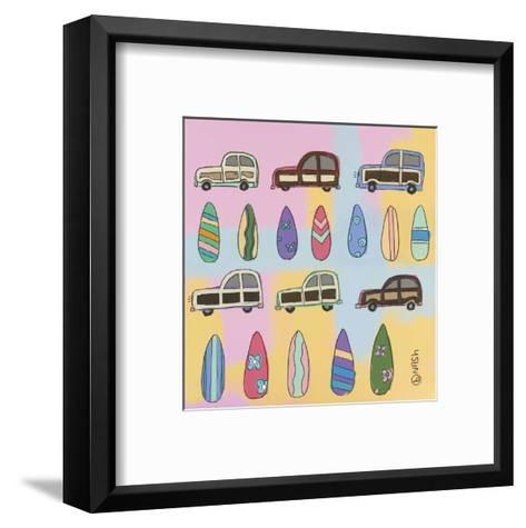 Surf and Turf-Brian Nash-Framed Art Print