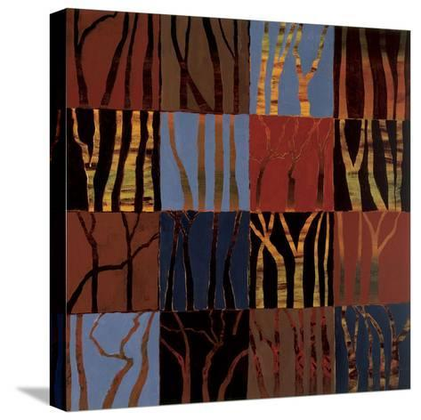 Red Trees II-Gail Altschuler-Stretched Canvas Print