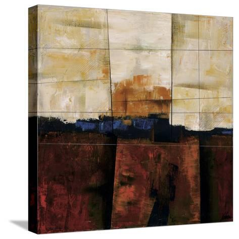 Red Ground-Yehan Wang-Stretched Canvas Print