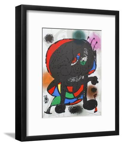 Litografia original III-Joan Mir?-Framed Art Print