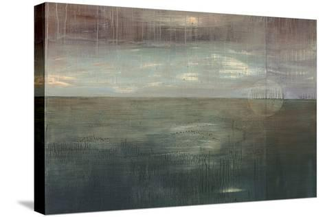 Mulberry Skies-Heather Ross-Stretched Canvas Print