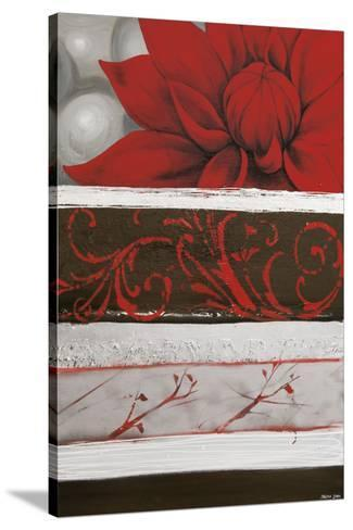 Sumptuous Red-Jasmin Zara Copley-Stretched Canvas Print