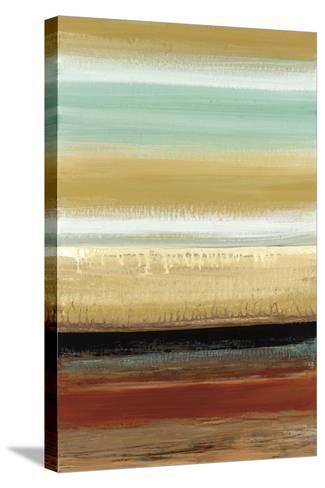 Horizon Lines I-Cat Tesla-Stretched Canvas Print